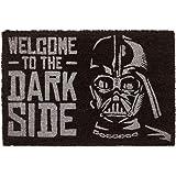 Erik | Zerbino Ingresso casa Originale Star Wars, Welcome to The Dark Side, Fabbricato in Fibra di Cocco e con Una Base in PV
