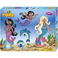 Hama- Mermaids Gift Box Perles à Repasser, 3150, Multicolore, Taille Unique