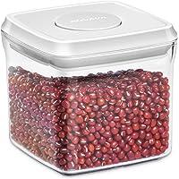ANVAVA Boite Alimentaire Rangement Cuisine, 500 ML, Couvercle de Bouton Poussoir, Boite Hermétique en Plastique de…