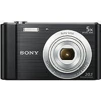 Sony DSCW800B.CEH Digital Compact Camera (20.1 MP, 5x Zoom, 2.7 LCD, 720p HD, 26 mm…