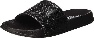 Trussardi Jeans Flat PVC Glitter, Ciabatte Donna