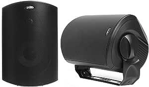 Polk Audio Atrium 6 Sats Außen Lautsprecher 100 W Schwarz Audio Hifi