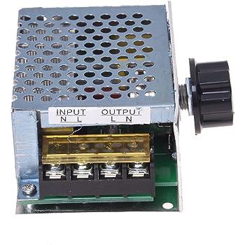 r gulateur variateur de vitesse pour ventilateur moteur ventilateur 1000w variateur 230 v. Black Bedroom Furniture Sets. Home Design Ideas