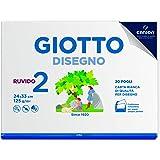 Giotto Album Disegno 2 RUVIDO 24 x 33 cm 20 fogli 125 g/m2