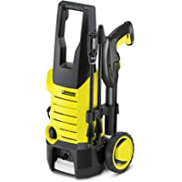 karcher k2.360 1400 watt high pressure home and car washer with wheels (120 bar, 6m cable)