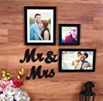 Painting mantra Mrs and Mrs Photo Frame Gift Set.