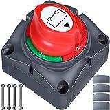 Master Switch Batterij 12V/24V - Batterij Uitgesneden Schakelaar - Master Batterij Isolator Ontkoppel Schakelaar Auto Batteri