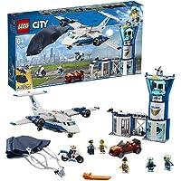 LEGO City Sky Police Air Base Building Blocks for Kids (529 Pcs)60210