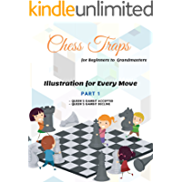 Chess Traps for Beginners to Grandmasters Illustration Part1 : Queen's Gambit Accepted and Queen's Gambit Decline: A…