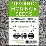 NumNum Superfoods® 500 Gms Organic Moringa Seeds (Tamilnadu Country breed Variety) High therapeutic values - Moringa…
