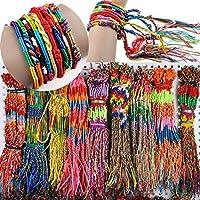 50pcs Wholesae BULK Jewelry lots Colorful Braid Friendship Cords Strand Bracelet