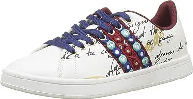 Desigual Shoes_Cosmic_Exotic Lettering, Baskets Basses Femme