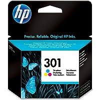 HP CH562EE 301 Original Ink Cartridge, Tri-Colour, Single Pack