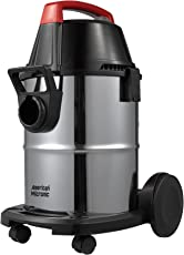 American Micronic-AMI-VCD21-1600WDx-Wet & Dry Vacuum Cleaner with Blower Function, 1600Watts, 21-litres, Stainless Steel Drum