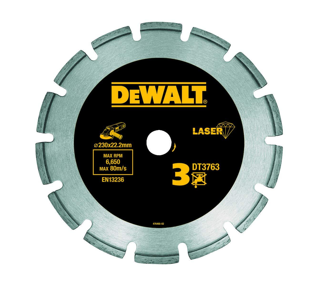 Dewalt DT3763-XJ – Disco de diamante 230mm corte de materiales duros y granito