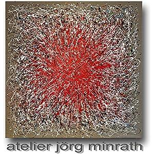Jörg Minrath - Handgemaltes Original - Gemälde auf Holzkeilrahmen - 140 x 140 cm - Abstrakte Bilder - Modern Art - Kunst - Painting - Zeitgenössische Kunst - Abstrakte Malerei
