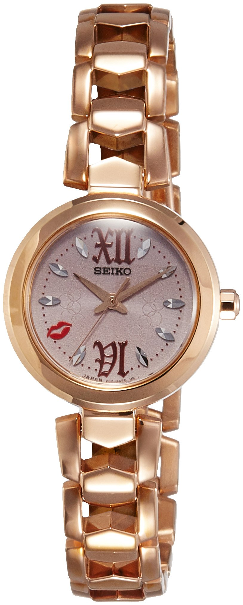Seiko Vivace Analog Gold Dial Women's Watch-SUP886J1