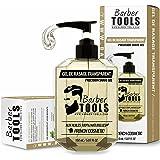 ✮ BARBER TOOLS ✮ Gel de afeitado transparente de 150 ml - Para un afeitado preciso de los contornos de la barba (visibilidad,