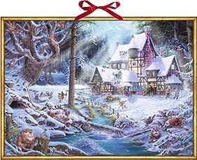 Wandkalender - Weihnachten auf dem Mühlenhof