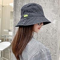 Warmiehomy Women Ladies Girls Fisherman Hat Sunbonnet Bucket Hat Hip Pop Casual Fedoras Outdoor Beach Cap Hiking…