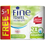 Fine, Sterilized Paper Towel – Super, Sterilized, 60 sheets x 2 Ply, pack of 6 rolls