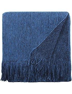 Eagle Products - Poncho - para mujer azul azul Talla única