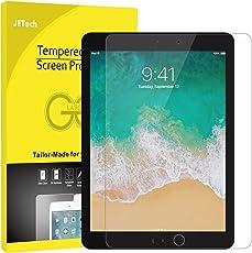 JETech Schutzfolie für iPad Pro 12,9 (2015 und 2017 Modell), Gehärtetem Glas Displayschutzfolie