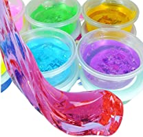 Asian Hobby Crafts ShopNGift DIY 5D Slime Gel Light Modeling Air Dry Magic Clay Jelly for Kids and Teens (Multicolour)...