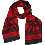 Versace Collection ISC40R1WIT02855I4081 - Scarf para hombre, color negro y rojo