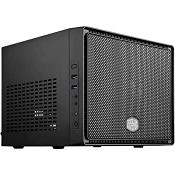 Cooler Master Elite 110 Case per PC 'Mini-ITX, USB 3.0, Pannello Laterale in maglia' RC-110-KKN2