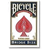 ورق لعب بلوت بايسكل بريدج - احمر