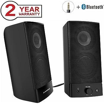 Avantree Enceinte PC Bluetooth Sans Fil Filaire 2 In 1 Enceintes Stro Multimdia 20 De Bureau Haut Parleur Pour Ordinateur TV Mac