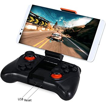 Taslar Mocute Wireless Game Controller Gamepad For Android Smartphones Ipad TV / PC Controller 3D VR Headset Remote Control Bluetooth Joystick (Black)