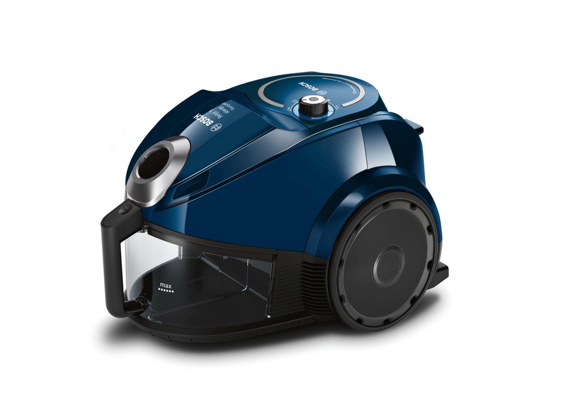 Bosch BGC3U130 Relyy'Y Staubsauger ohne Beutel dunkelblau