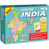 Creative Educational Aids P. Ltd. Know India Puzzle (Multi-Color, 60 Pieces)
