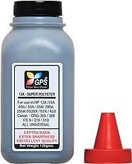 GPS 12A Super Polyster Premium Quality Toner Powder 1 Bottle 120gms.