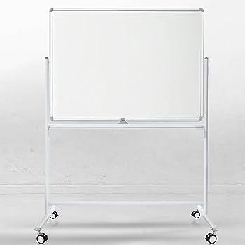100 x 150 cm Franken ST202 Stativ-Drehtafel beidseitig Schreibtafel emailliert