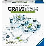 Ravensburger GraviTrax Starter Set, Juego construcciones STEM, +100 componentes, Edad recomendada 8+ (27597)