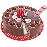 Le Toy Van Le Toy Van chokladröd med tårtspade flerfärgad, flerfärgad
