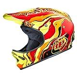 Troy Lee Erwachsene Helm D2 Galaxy Rot, M