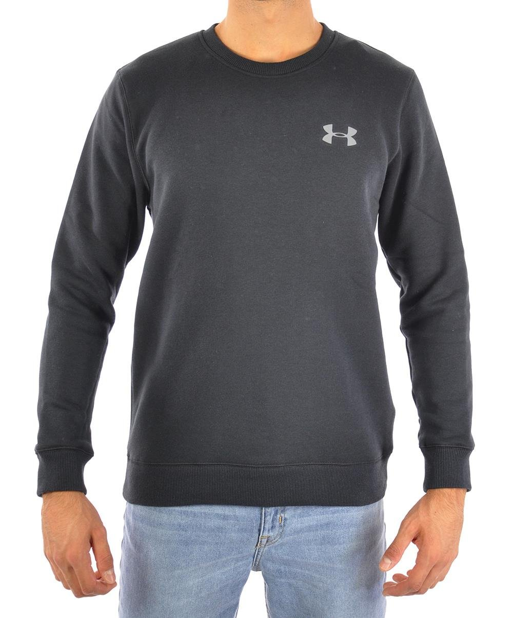 Under Armour - Rival Solid Fitted Crew, Felpa Uomo 1 spesavip