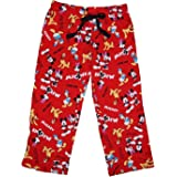 Disney Classic Mickey and the Gang Womens Pajama Pants - Red
