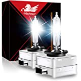 WinPower D1S Xenon Bulb 35W Headlight Discharge Lamp Replace HID Kit 12V Car Bulbs 4300K Yellow X-treme Light, 1 Pair