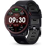 GOKOO Smartwatch, Herren Männer Fitness Tracker 1,3 Zoll Voller Touch Screen Bluetooth Armbanduhr wasserdichte GPS…
