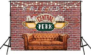 Dudaacvt Friends Central Perk Hintergrund 2 1 X 1 5 M Kamera