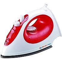 Bajaj Majesty MX15 1200-Watt Steam Iron (Red/White)