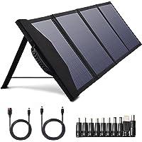 80W Tragbares Solarpanel Ladegerät, Faltbares Solarpanel mit PD 30W und QC 3.0 Ausgängen für Jackery Explorer 160/240…