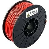 Aleph (objets Inc. Lulzbot imprimante 3d Filament, ABS, 3mm, bobine de 1kg, Red, 12