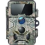 APEMAN Cámara de Caza 20MP 1080P con Tarjeta TF 16GB, Rango de detección 120 °, Lente Gran Angular de 116 °, Distancia de Dis
