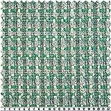Sommer-Tweed, grün/mehrfarbig, 150 cm breit, Meterware